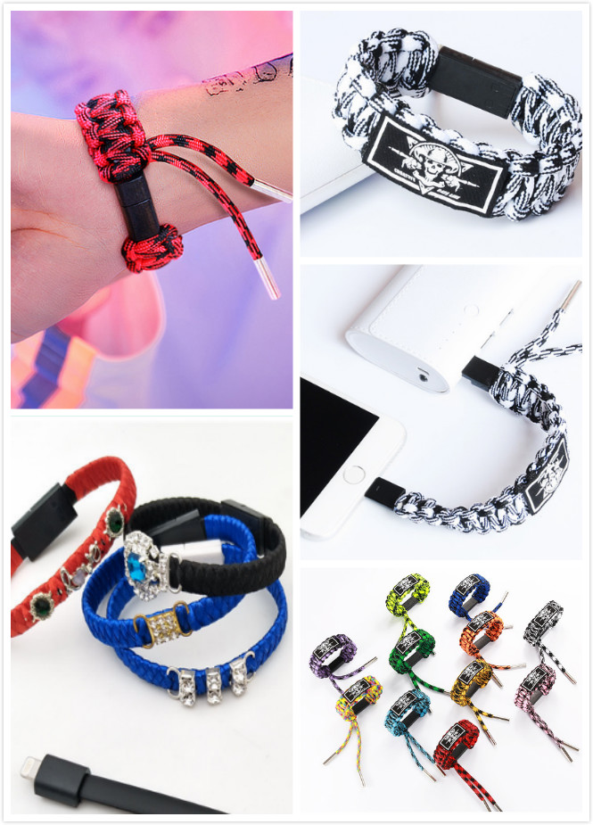 Rope Braided Bracelet charging cable